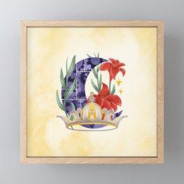 LUNAR Framed Mini Art Print