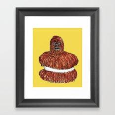 wookie pie Framed Art Print