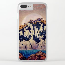Guiding me across Nobe Clear iPhone Case