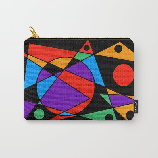 Abstract #85 Carry-All Pouch