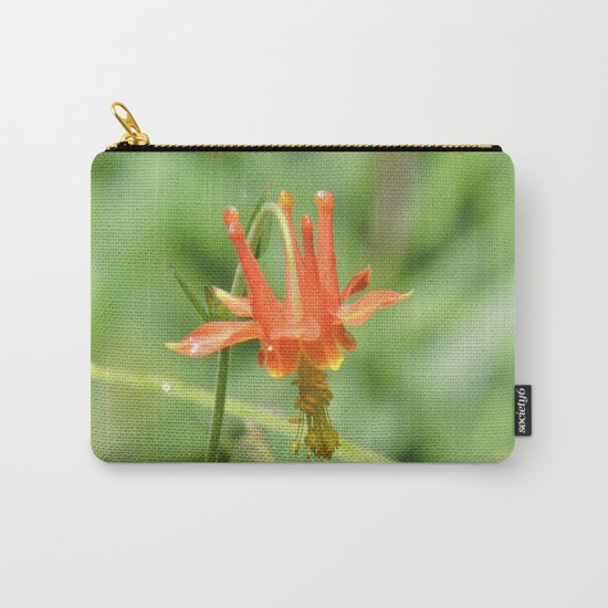 Columbine in the Breeze Carry-All Pouch