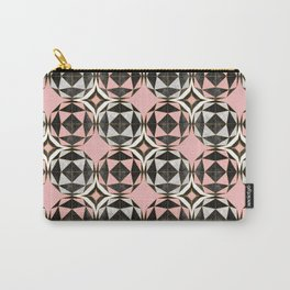 Geodesic Optic Roses Carry-All Pouch