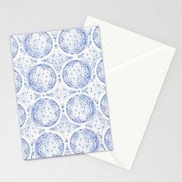 cornflower blue Stationery Cards