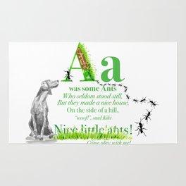 NICE LITTLE ANTS Rug
