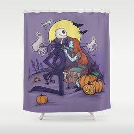 The Halloween Hero Shower Curtain