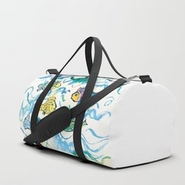 Funny fishes Duffle Bag
