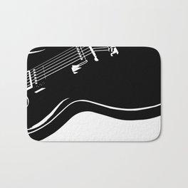 Blues Guitar Bath Mat
