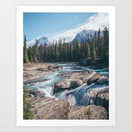 Raw Nature Art Print