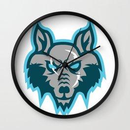 Azgeda Kru Wolf Wall Clock