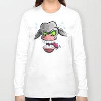 donkey Long Sleeve T-shirts featuring Donkey by Keyspice