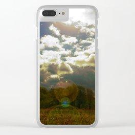 Violent Autumn #3 Clear iPhone Case