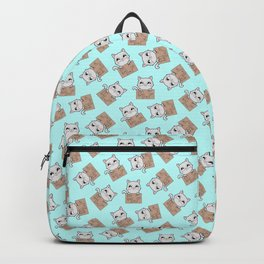 Here's Your Sign - Kitty Cat Says Eat a Bag of Dicks Backpack