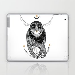 bird women Laptop & iPad Skin