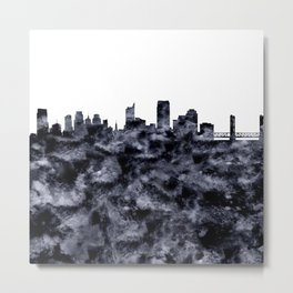 Sacramento Skyline California Metal Print