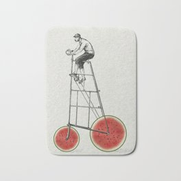 melon bike Bath Mat
