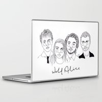 cactei Laptop & iPad Skins featuring Wolf Alice by ☿ cactei ☿