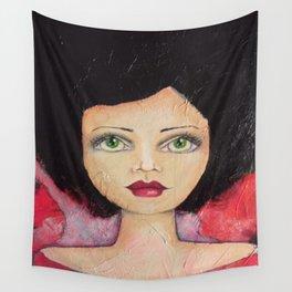 Bella SASS Girl - Cyndi - SASS = STRONG and SUPER SMART Wall Tapestry