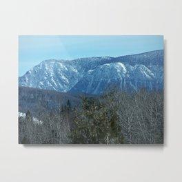 Chic-Choc Mountain Peaks Metal Print