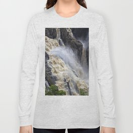 Raging thunder of the waterfall Long Sleeve T-shirt
