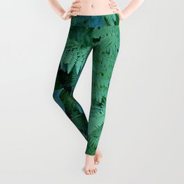 Ferns and Poison Ivy Leggings