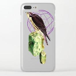Serpentine Hawk Clear iPhone Case