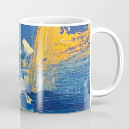 Golden Blues Coffee Mug