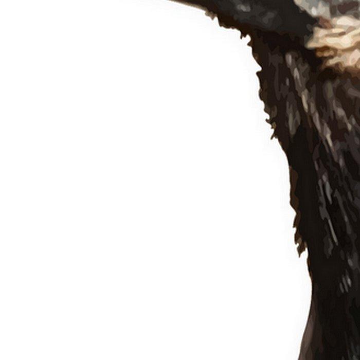 Jackdaw (Corvus monedula) Bird Portrait Vector Leggings