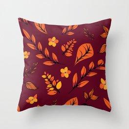 Flower Design Series 22 Throw Pillow