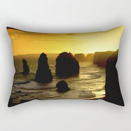 Sunset over the Twelve Apostles - Australia Rectangular Pillow