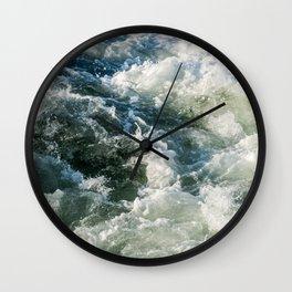 Choppy Water Wall Clock