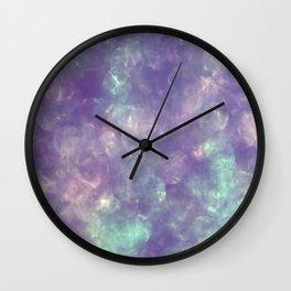 Irridescent Shimmer Wall Clock