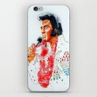 elvis presley iPhone & iPod Skins featuring Elvis presley by calibos