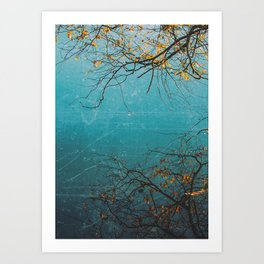 The Mirrored Tree Art Print