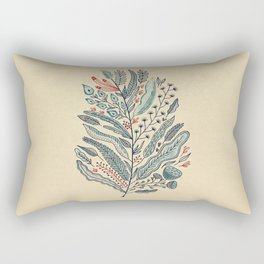 Turning Over A New Leaf Rectangular Pillow