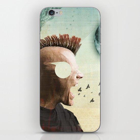 luna mohawk  iPhone & iPod Skin