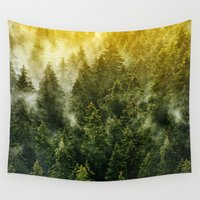 sofa Wall Tapestries featuring Don't Wake Me Up by Tordis Kayma