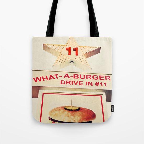 What A Burger Tote Bag