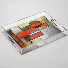 Falling Industrial Acrylic Tray