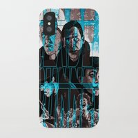 blade runner iPhone & iPod Cases featuring Blade runner by David Amblard