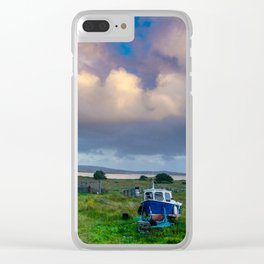 Ireland's Silent Beauty Clear iPhone Case