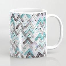 ZigZag Blue Coffee Mug
