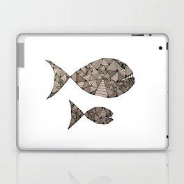 big fish small fish Laptop & iPad Skin