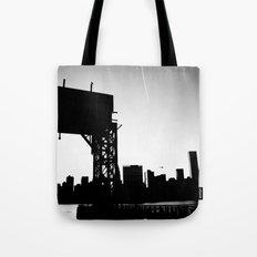 New York City Blackout Tote Bag