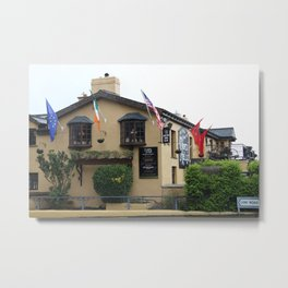 Durty Nelly's Village Inn Metal Print