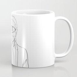 Karl Lagerfeld portrait Coffee Mug