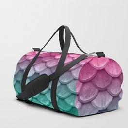 Mermaid Tail Fish Scales Duffle Bag