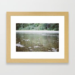 calmer waters Framed Art Print
