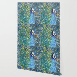 Peacock Love Wallpaper