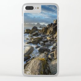 The Cuillin From Elgol Clear iPhone Case