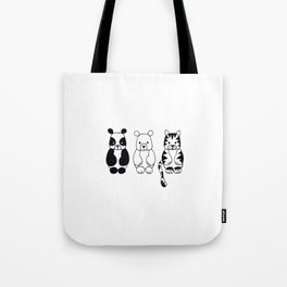 Little Animals Tote Bag